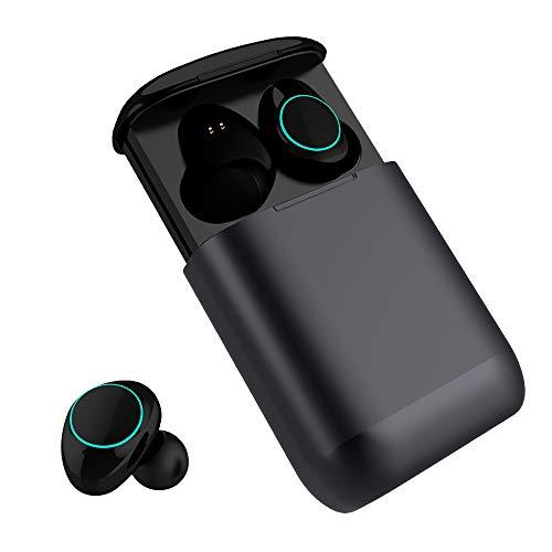 Headsets Büroelektronik Hart Arbeitend Bluetooth Kopfhörer Bluetooth Kopfhörer Drahtlose Bluetooth Kopfhörer 700 Mah Sport Universal In Ohr Tragbare Tws Weich Und Leicht